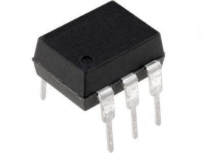 TIL111M DC Input Transistor Output Optocoupler, Through Hole, 6-Pin MDIP