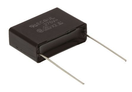 Panasonic 470nF Polyester Capacitor PET 275 V ac lead pitch 22.5mm