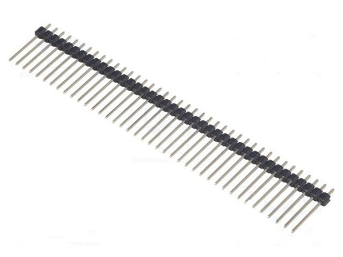 Pin header; pin strips; male; PIN:40; straight; 2.54mm; THT; 1x40